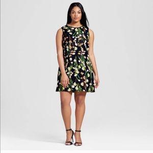 Victoria Beckham Target Floral Dress XL